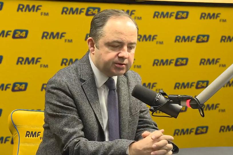 Wiceminister spraw zagranicznych Konrad Szymański w RMF FM /RMF