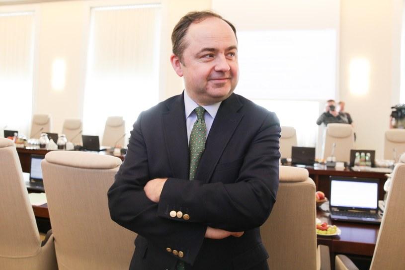 Wiceminister spraw zagranicznych Konrad Szymański /Aleksandra Szmigiel /Reporter