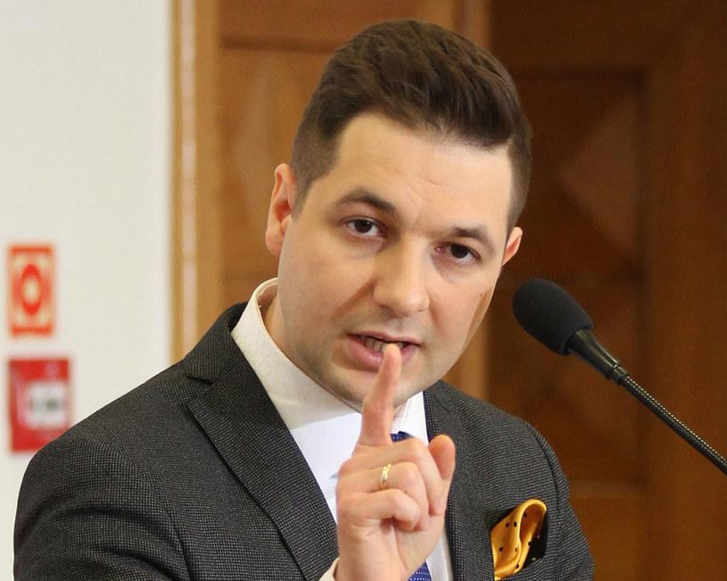 Wiceminister sprawiedliwości Patryk Jaki /Robert Ostrowski /East News