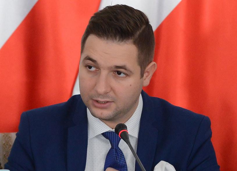 Wiceminister sprawiedliwości Patryk Jaki /Jakub Kamiński   /PAP