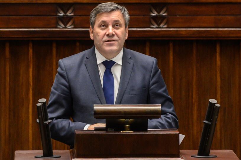 Wicepremier i minister gospodarki Janusz Piechociński w Sejmie /Jakub Kamiński   /PAP