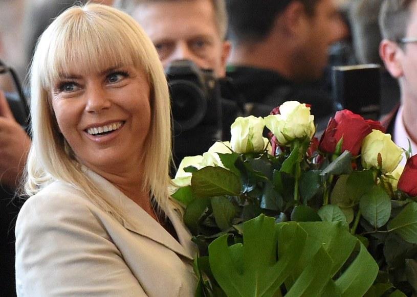 Wicepremier i minister infrastruktury i rozwoju Elżbieta Bieńkowska /Radek Pietruszka /PAP