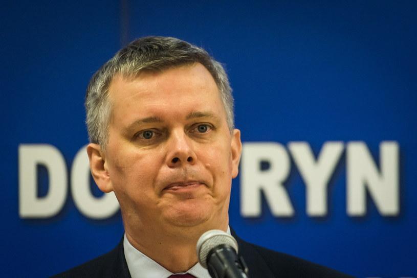Wicepremier i minister obrony narodowej Tomasz Siemoniak /Tytus Żmijewski /PAP