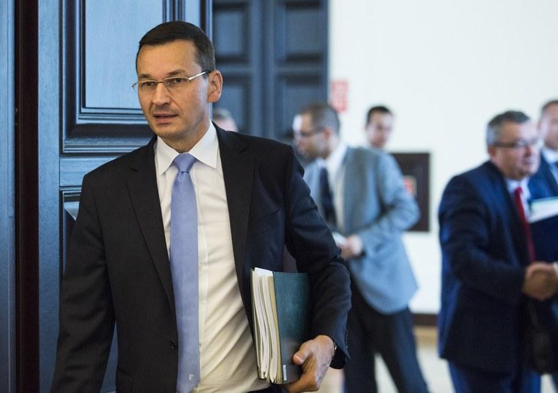 Wicepremier i minister rozwoju Mateusz Morawiecki /Andrzej  Hulimka /Reporter