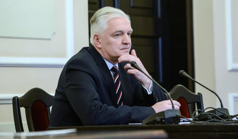 Wicepremier Jarosław Gowin zeznaje jako świadek /Jakub Kamiński   /PAP