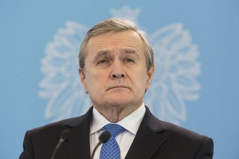 Wicepremier, minister kultury i dziedzictwa narodowego Piotr Gliński /Andrzej Hulimka  /Reporter
