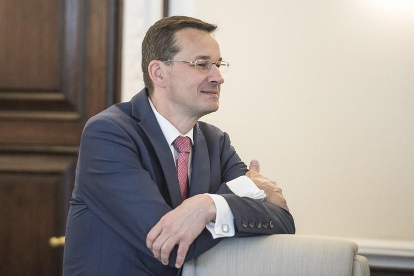 Wicepremier, minister rozwoju i finansów, Mateusz Morawiecki /Jacek Dominski/REPORTER. /Agencja SE/East News