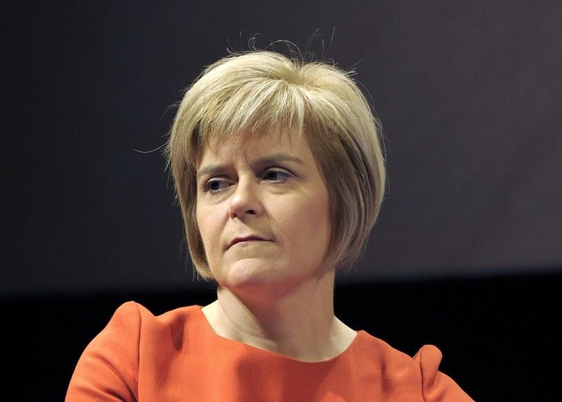 Wicepremier Szkocji Nicola Sturgeon /AFP