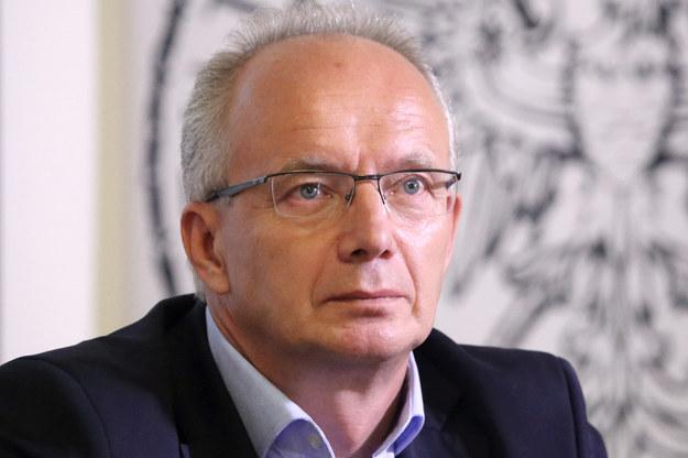 Wiceprezes IPN prof. Krzysztof Szwagrzyk /Joanna Borowska /Agencja FORUM