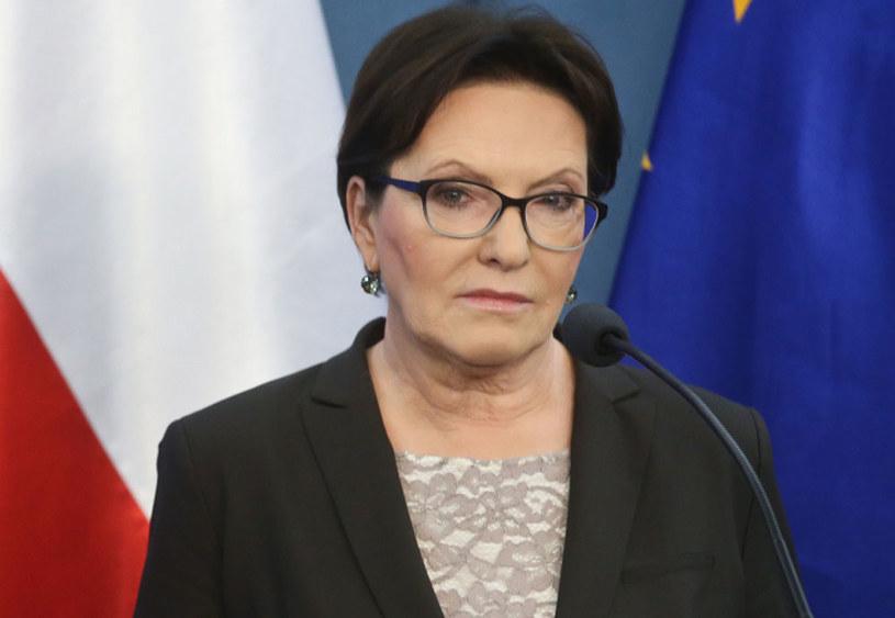 Wiceprzewodnicząca PO i wiceszefowa gabinetu cieni PO Ewa Kopacz /Rafał Guz /PAP
