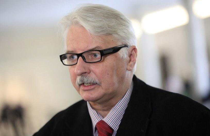 Wiceprzewodniczący komisji spraw zagranicznych Witold Waszczykowski z PiS. /Stefan Maszewski /Reporter
