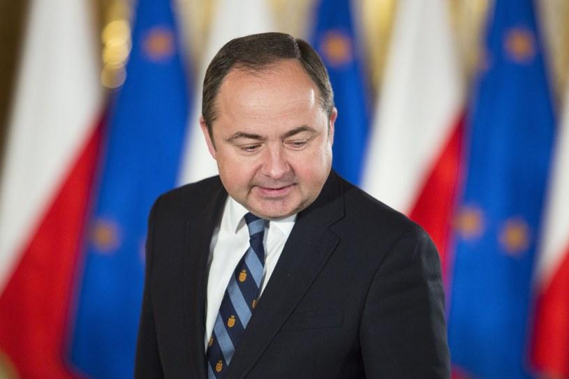 Wiceszef MSZ Konrad Szymański /Andrzej Hulimka  /Reporter