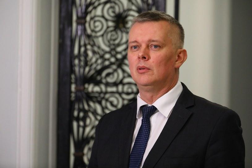 Wiceszef Platformy Obywatelskiej Tomasz Siemoniak /Stanisław Kowalczuk /East News