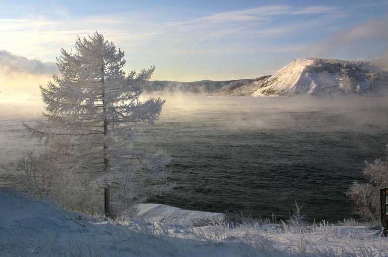 Widok na Bajkał /AFP