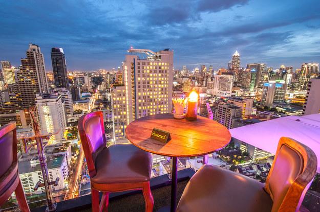 Widok na Bangkok /123/RF PICSEL