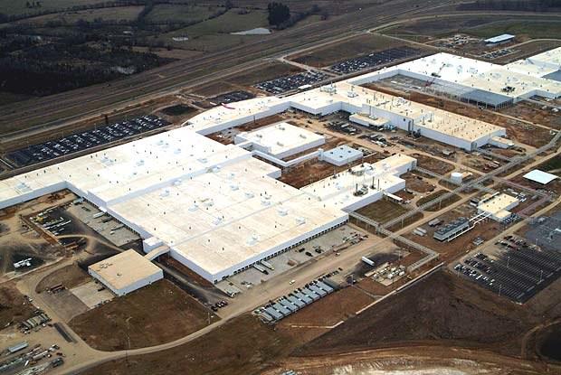 Widok na fabrykę w Canton (kliknij) /INTERIA.PL
