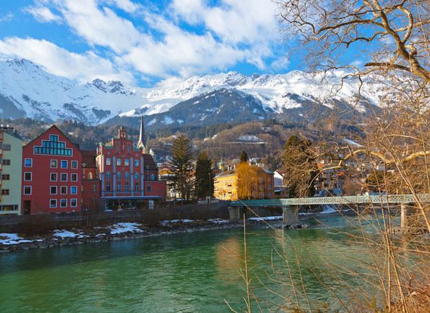 Widok na Innsbruck /123RF/PICSEL