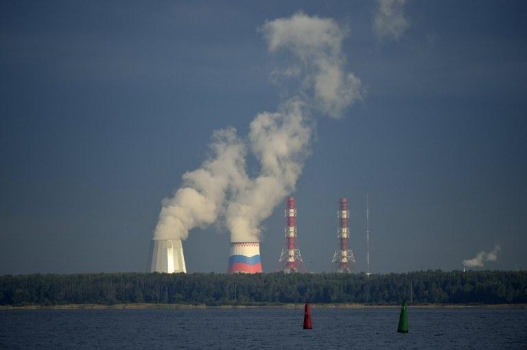 Widok na jedną z rosyjskich elektrowni atomowych, zdj. ilustracyjne /ERIC FEFERBERG / AFP /AFP