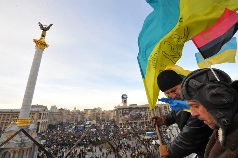 Widok na Majdan Niepodległości /AFP