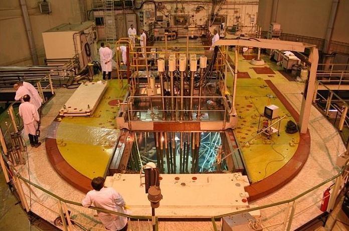Widok ogólny na blok reaktora MARIA  /www.iea.cyf.gov.pl