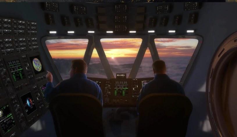 Widok z kabiny misji wg koncepcji HAVOC. /NASA