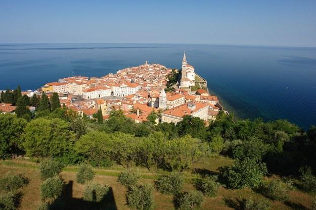 Widok z zamku w miejscowości Piran /123/RF PICSEL