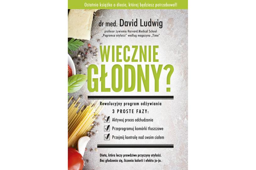 """""""Wiecznie głodny?"""", dr med. David Ludwig /materiały prasowe"""