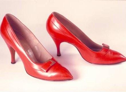 Wieczorowe buty Marilyn Monroe, ok. 1960. Fot. Bata Shoe Museum, Toronto /INTERIA.PL