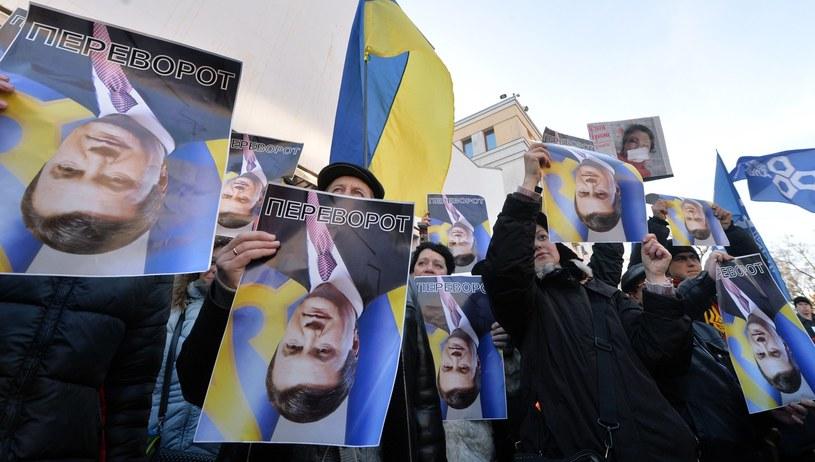 """""""Wiedomosti"""" twierdzą, iż porażka Wiktora Janukowycza to skutek błędów Rosji. /AFP"""