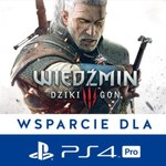 Wiedźmin 3 ze wsparciem dla PlayStation 4 Pro