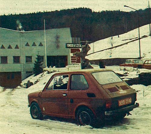 Większą część badania drogowego przeprowadziliśmy podczas śnieżnej i mroźnej zimy. /Motor