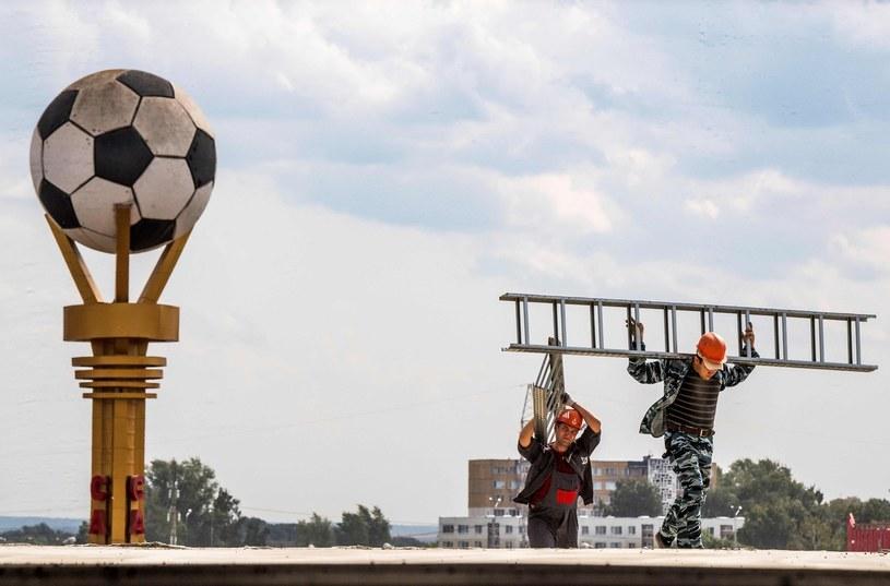 Większość stadionów na MŚ w Rosji wciąż nie jest gotowych /AFP