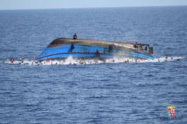 Wielka akcja ratunkowa na Morzu Śródziemnym