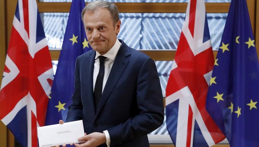 Wielka Brytania opuszcza Unię Europejską. Donald Tusk otrzymał oficjalny list