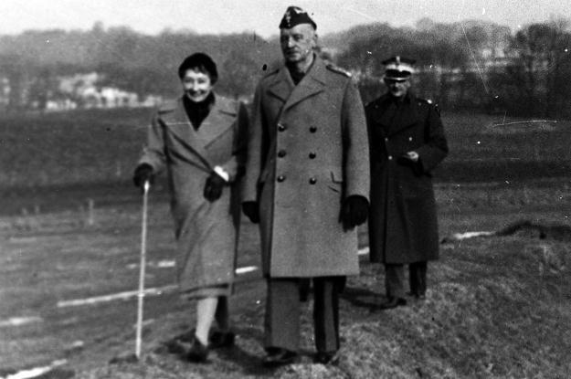 Wielka Brytania, przed 1943 r. Generał Władysław Sikorski z żoną Heleną. Fot. KARTA /Agencja FORUM
