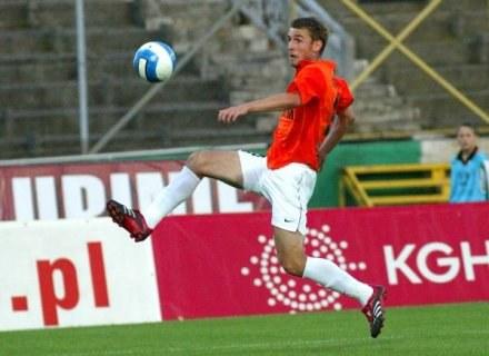 Wielka nadzieja lubinian - Wojciech Łobodziński /Agencja Przegląd Sportowy