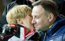 Wielka radość Agaty i Andrzeja Dudów! Co za czułości!