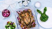Wielkanoc pełna smaku - Pieczony Kurczak Zagrodowy z wiosennymi warzywami