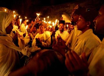 Wielkanoc pod Ścianą Płaczu /AFP