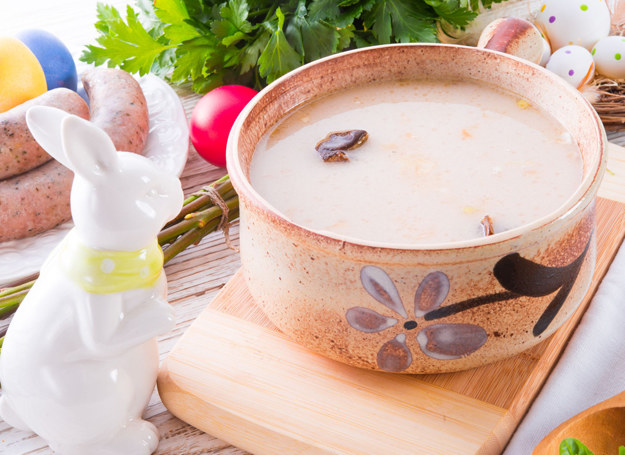 Wielkanocna zupa chrzanowa /123RF/PICSEL