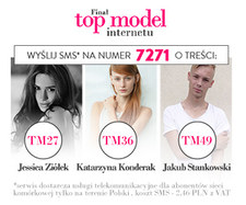 Wielki finał konkursu Top Model Internetu