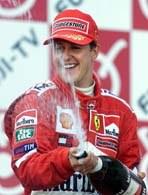 Wielki Michael święci swój piąty triumf w F1