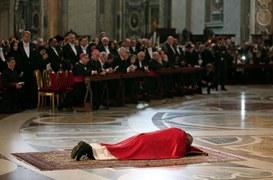 Wielki Piątek w bazylice Świętego Piotra