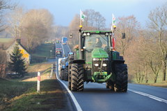 Wielki protest rolników w kilku regionach kraju