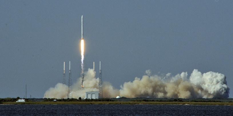 Wielki sukces SpaceX - rakieta Falcon 9 wylądowała na pływającej platformie /AFP