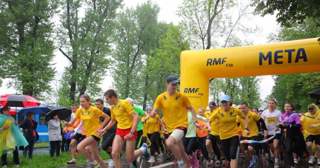 Wielkie bieganie z RMF FM na krakowskich Błoniach