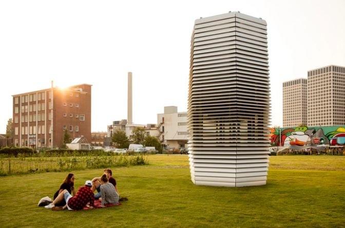 Wielkie oczyszczacze powietrza staną w kilku chińskich miastach /Kickstarter /Internet