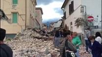 Wielkie zniszczenia po trzęsieniu ziemi we Włoszech