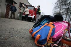 Wielkopolska: Zamiast do szkoły, trafiły do szpitala