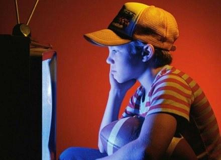 Wielogodzinne oglądanie telewizji przez dzieci wpływa na trudności w nauce /MWMedia